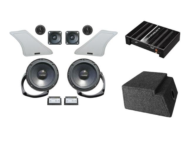 Soundsystem im Wohnmobil: Kompettset für den VW Bus T6