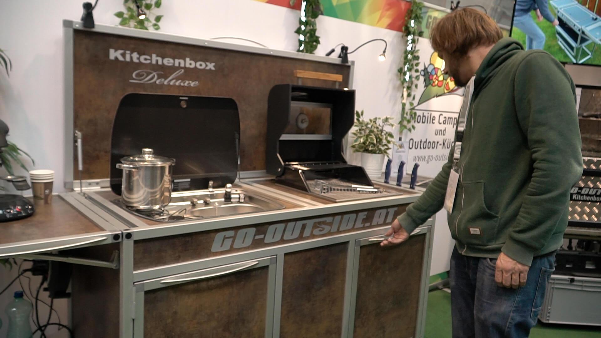 Mobile Outdoor Küche Camping : Mobile campingküche von go outside campingtech