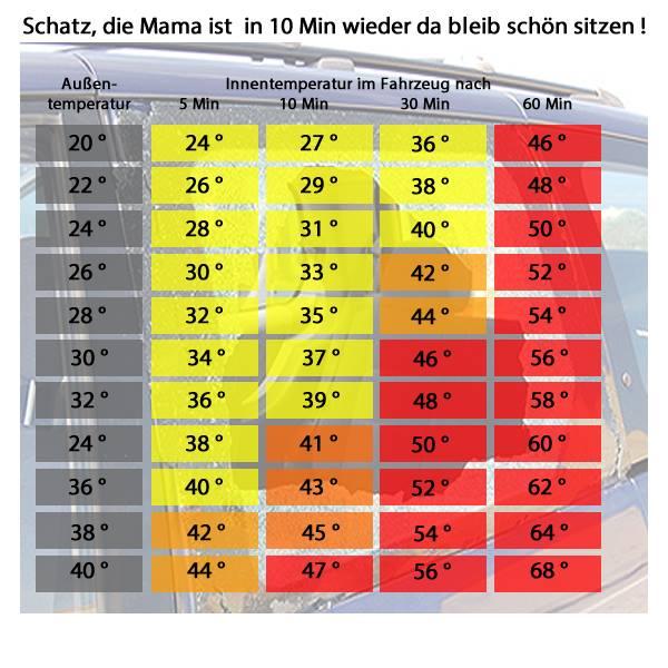 Kabel korrekt verlegen: Temperatur im Fahrzeug
