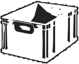 Camping-Küche selber bauen - Ideensammlung: Eurobox für die Kitchenbox