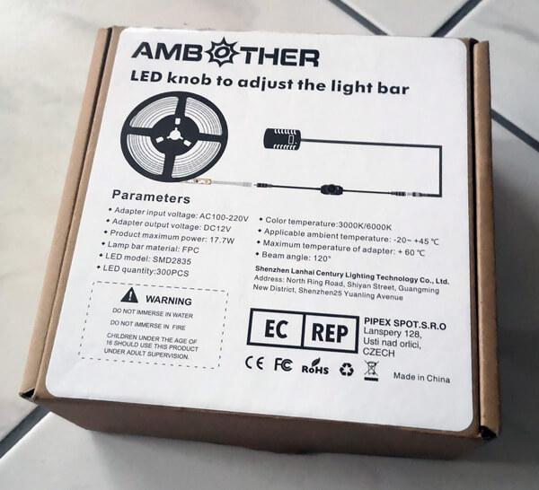 LED Vorzelt, Pavillon und Markise Beleuchtung - die Verpackung