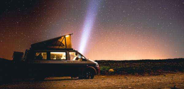 VW Bus: Van für Weltreise