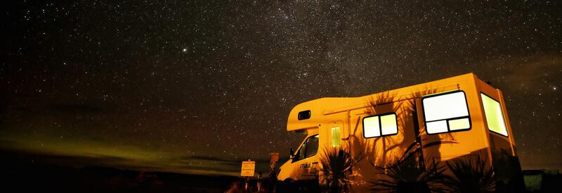 Wohnwagen oder Wohnmobil: Mit dem Van auf Weltreise