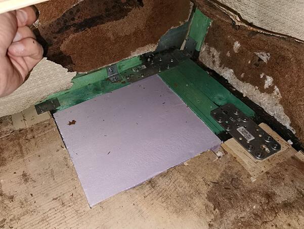 Wohnwagen restaurieren: Boden erneuert