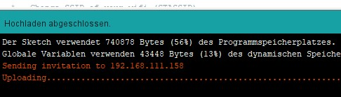 Arduino OTA Update