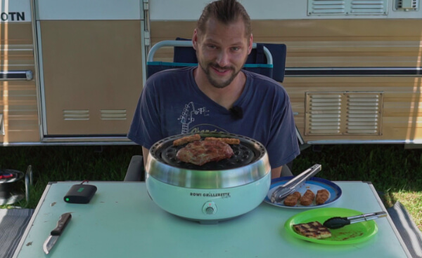 Grillerette Premium von ROWI - Livetest im Video