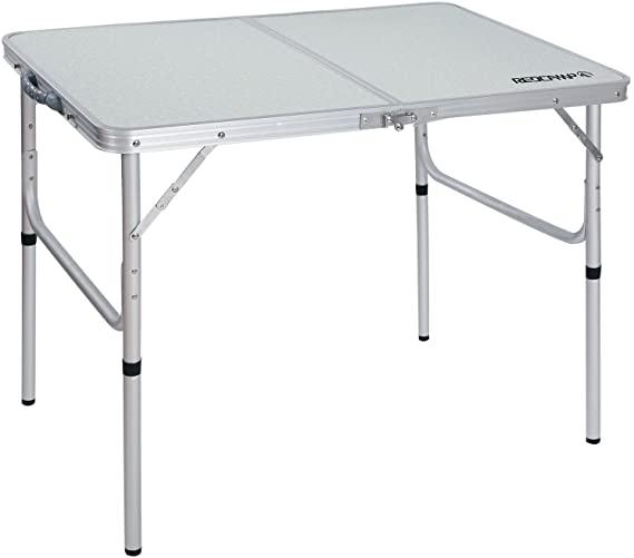 Camping-Tisch klappbar faltbar aus Alu