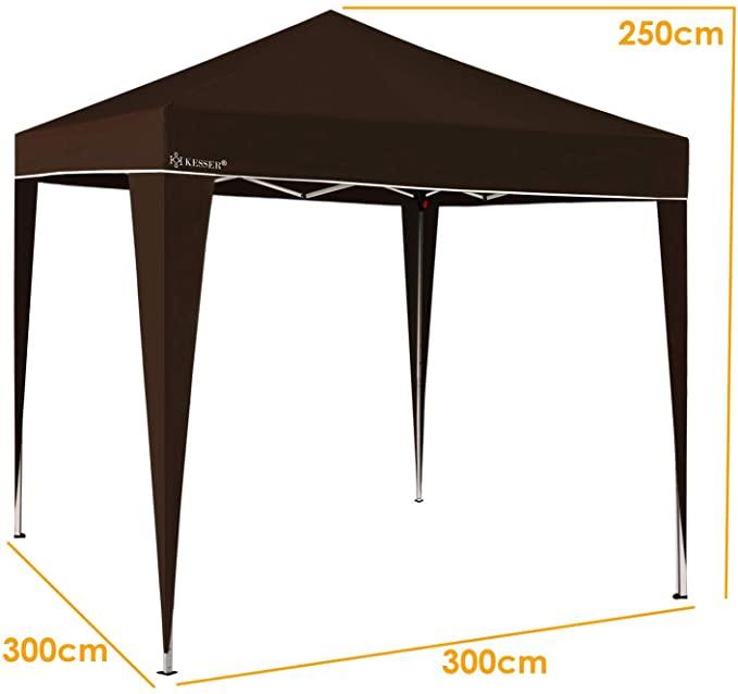 Grund- bzw. Erstausstattung: Pavillon mit UV-Schutz